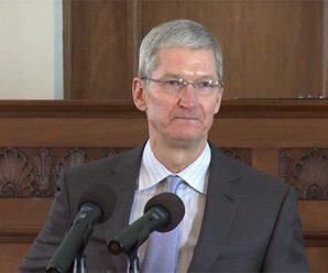 苹果营业额15年来首次下滑 库克总薪酬减少150万美元
