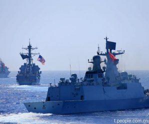 美中将:中美海军一个弱爆了 另一个无坚不摧