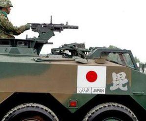日本新战车扬言可入侵钓鱼岛 曾在军演掉了轮子