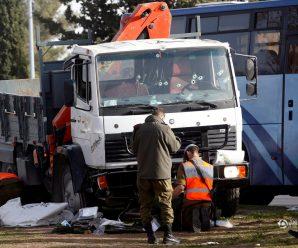 以色列卡车冲撞人群致4死13伤 包括三名女兵