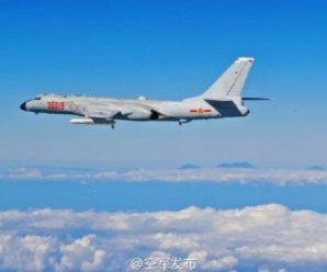 专家谈空军训练穿越对马海峡:6架轰-6出航很罕见