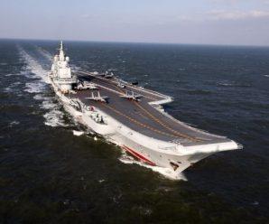 辽宁舰今晨7时穿越台湾海峡 美国回应