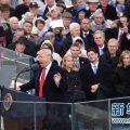 特朗普在华盛顿宣誓就任美国第45任总统