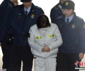 崔顺实出席弹劾案第5次庭审辩论 否认相关嫌疑