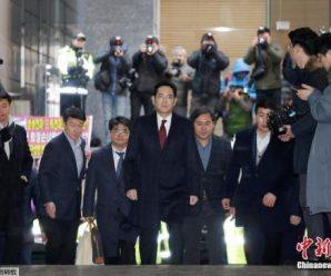 """韩国法院拒绝批捕三星""""太子""""李在镕"""