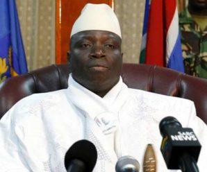 冈比亚前总统贾梅乘机离国 开始流亡生涯