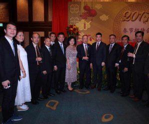 中国驻泰使馆举行新春晚宴 泰华各著名侨领应邀参加