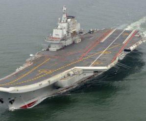 辽宁舰或将穿台湾海峡 台军方:导弹已备好