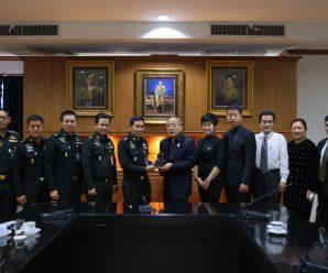 泰国统促会王志民会长参加泰国国防部会议