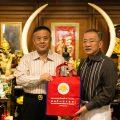 泰国青年商会李桂雄会长拜访泰国统促会王志民会长