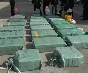 云南警方初一破获特大武装贩毒案 缴获毒品660斤