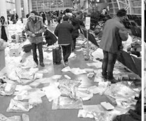 韩国机场变垃圾场赖中国游客?韩媒:机场也有问题