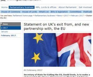英国发布脱欧白皮书 寻求与欧盟建立全新良好关系