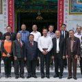 泰国统促会王志民会长陪同山西海外交流会客人访问王氏宗亲总会