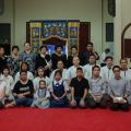 泰国统促会王志民会长家族为王海成举行丧礼