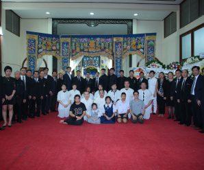 泰国统促会为名誉会长王海成举行丧礼