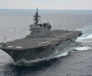 """日本准航母""""出云""""要来南海 杜特尔特一箭双雕"""