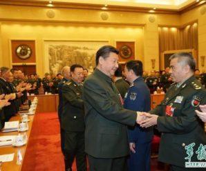 习近平出席十二届全国人大解放军代表团活动纪实