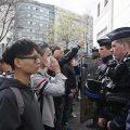法国警察射杀中国公民被关押 26名抗议华人获释