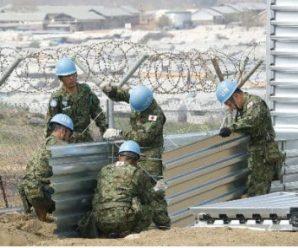 日自卫队队员遭南苏丹军队缴械 关押1小时称是误会