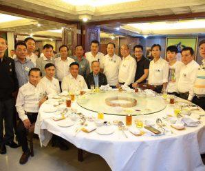 泰国华商联合商会举行月例聚会