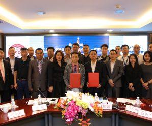 广东省电动车商会访问泰国广东商会