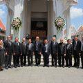泰国统促会王志民会长参加许爱华夫人丧礼