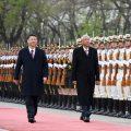 习近平同缅甸总统吴廷觉举行会谈