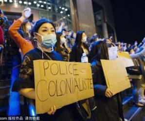 数千巴黎华侨华人集会呼吁警方尽快公布刘少尧案真相