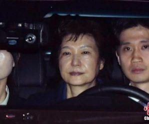 韩检方第4次看守所中讯问朴槿惠 集中调查受贿嫌疑