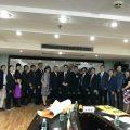 泰国统促会王志民会长对广州进行友好访问