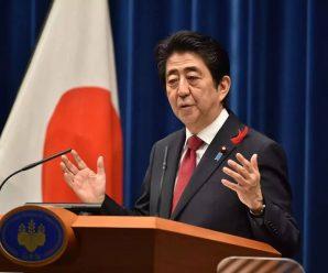 安倍称强烈希望美国重回TPP协议谈判