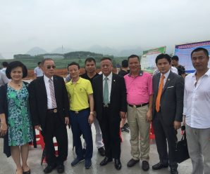 泰国统促会王志民会长出席东盟欢乐谷开工典礼暨