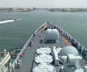 中伊海军在霍尔木兹海峡演习 英媒:或令美忧虑