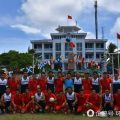 """英媒:菲越海军又在南沙南子岛搞""""联欢运动会"""""""