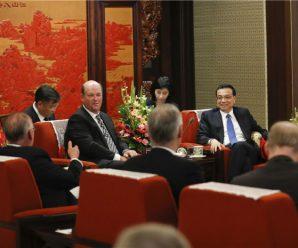 李克强:商业沟通会增进中美政治互信