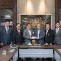 泰國潮州會館名譽主席鄭鶴樓先生捐款裝修會館禮堂