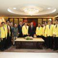 中国侨联顾问、原主席林军率访问团到访泰国统促会