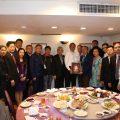 亚洲地区华侨经贸文化交流团拜会中华统一促进党
