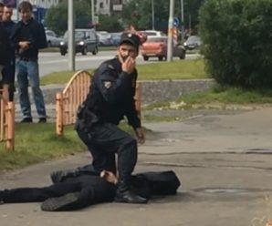 俄罗斯发生持刀袭击事件8人受伤 袭击者被警方击毙