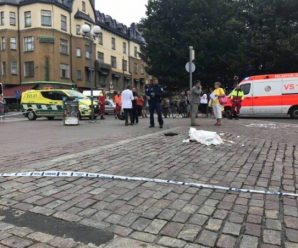 芬兰发生持刀伤人事件致2死8伤 行凶者被逮捕