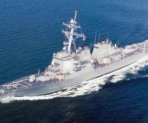 美军驱逐舰与商船相撞致5伤10失踪 曾擅闯南海