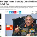 """印陆军参谋长:时刻准备好与中国和巴基斯坦""""两线作战"""""""