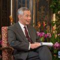 """李显龙:在中国出门""""不怕口袋没钱,只怕手机没电"""""""