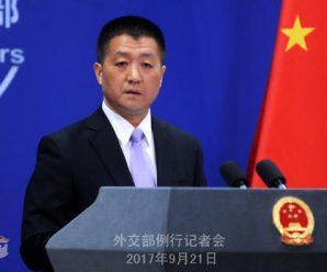 安倍称应对朝鲜的时间已经不多了 中方回应