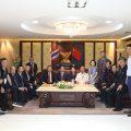 台湾中华新住民党代表团访问泰国统促会