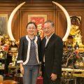 上海市台办访问团拜会泰国统促会王志民会长