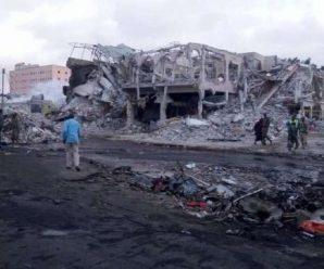 索马里首都汽车炸弹袭击已致189人死亡
