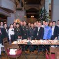 泰国统促会王志民会长与亲友共庆77岁生日