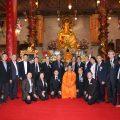 泰国潮州会馆恭请僧王祭奠普净师祖